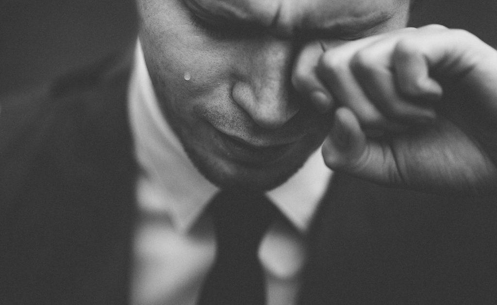 Verzweiflung und Einsamkeit