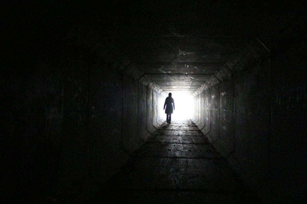 Licht am anderen Ende des Tunnels